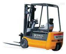 德国STILL1.4吨三轮电动平衡重叉车