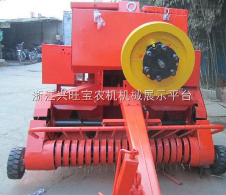 小麦秸秆打捆机 玉米秸秆方捆机生产基地