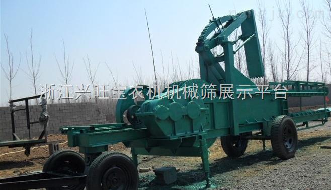 供应亿阳大型玉米秸秆打捆机【玉米撕皮脱粒机、秸秆回收机】亿阳厂价直销