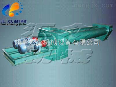 密封圆形单管/双管螺旋输送机