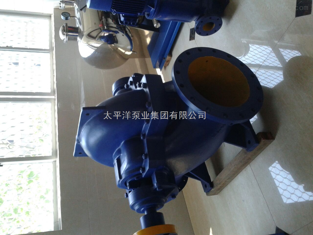 TPQW蜗壳式中开泵
