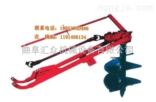车载式大钻杆挖坑机 大马力拖拉机带钻坑机