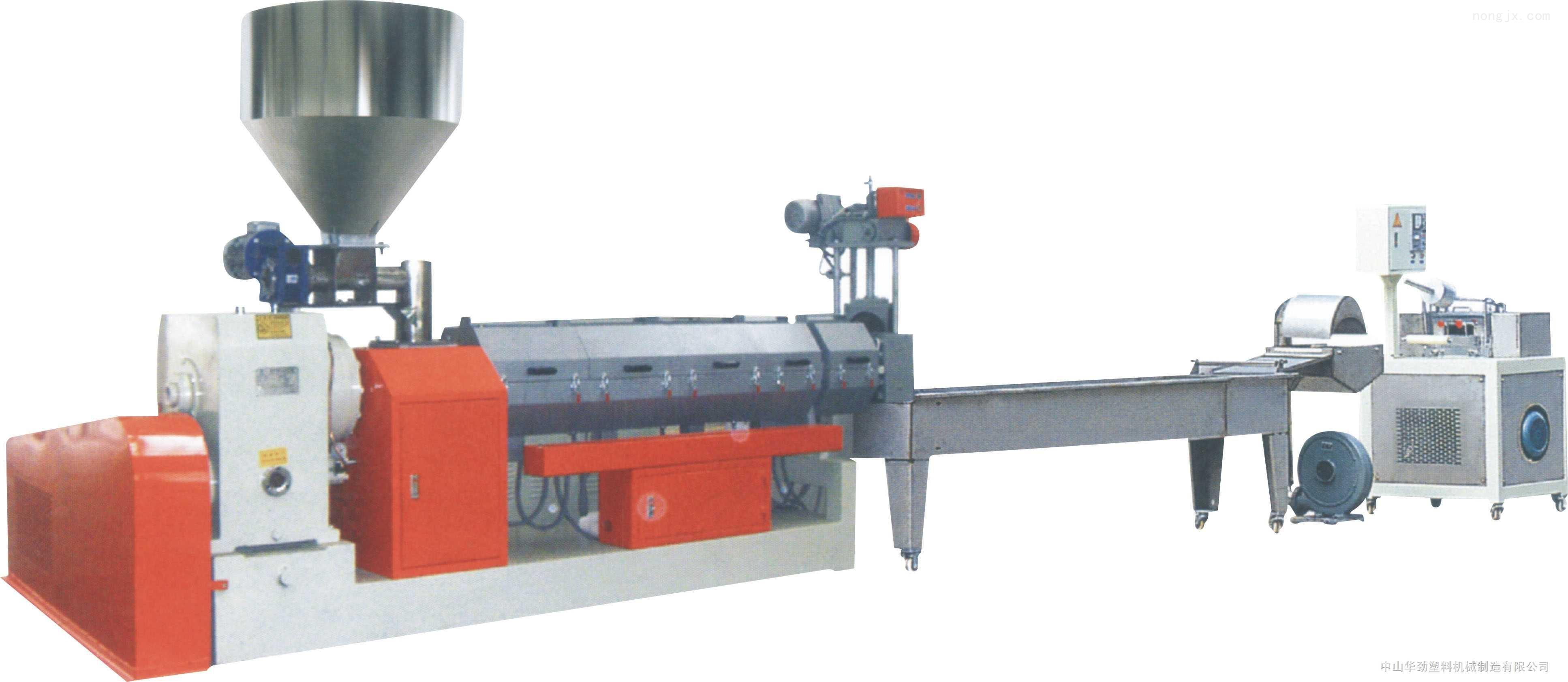 厂家直销,品质保证 LDPE水环切塑料挤出造粒机 G4-160/150