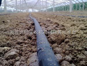 供应百润节水∮15mmPE内镶贴片滴灌带农田灌溉内镶式滴灌带