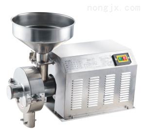 厂家直销 久品牌400克电脑版家用五谷杂粮粉碎机食品磨粉机械设备