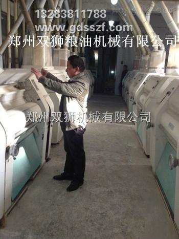 郑州双狮日处理小麦120-300吨级成套面粉加工设备