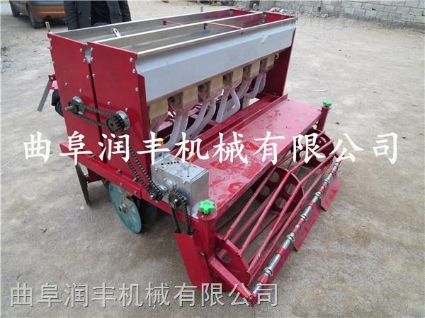 新型耕耘玉米播种机 免间苗六行小麦精播机