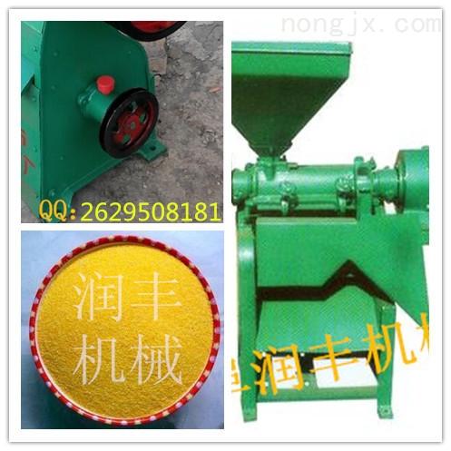 大型玉米脱皮制粉机 多功能磨面制糁机