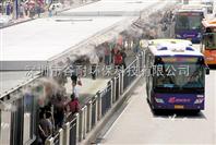 河南公交站喷雾加湿系统喷雾降温工程