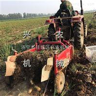 手扶专用土豆收获机震动收获效率高 江西小型挖红薯机