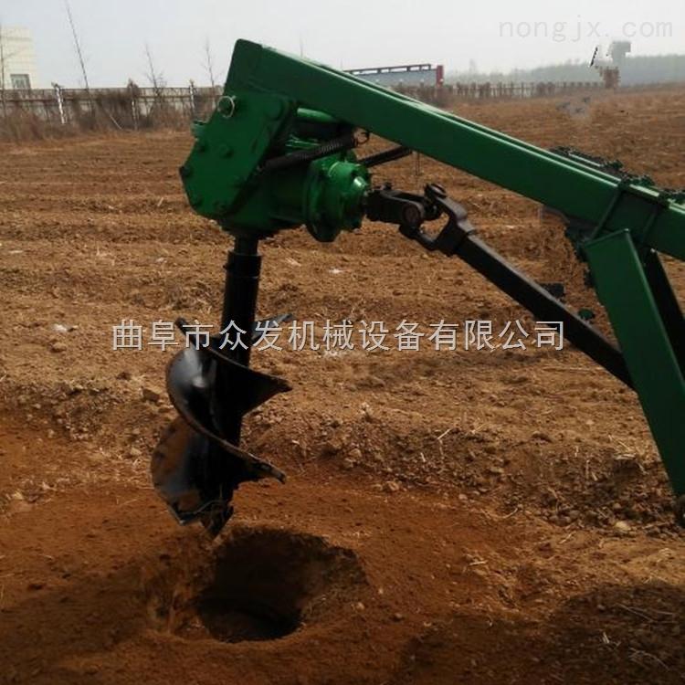 商洛山土地挖坑機 手推挖坑打洞機性能