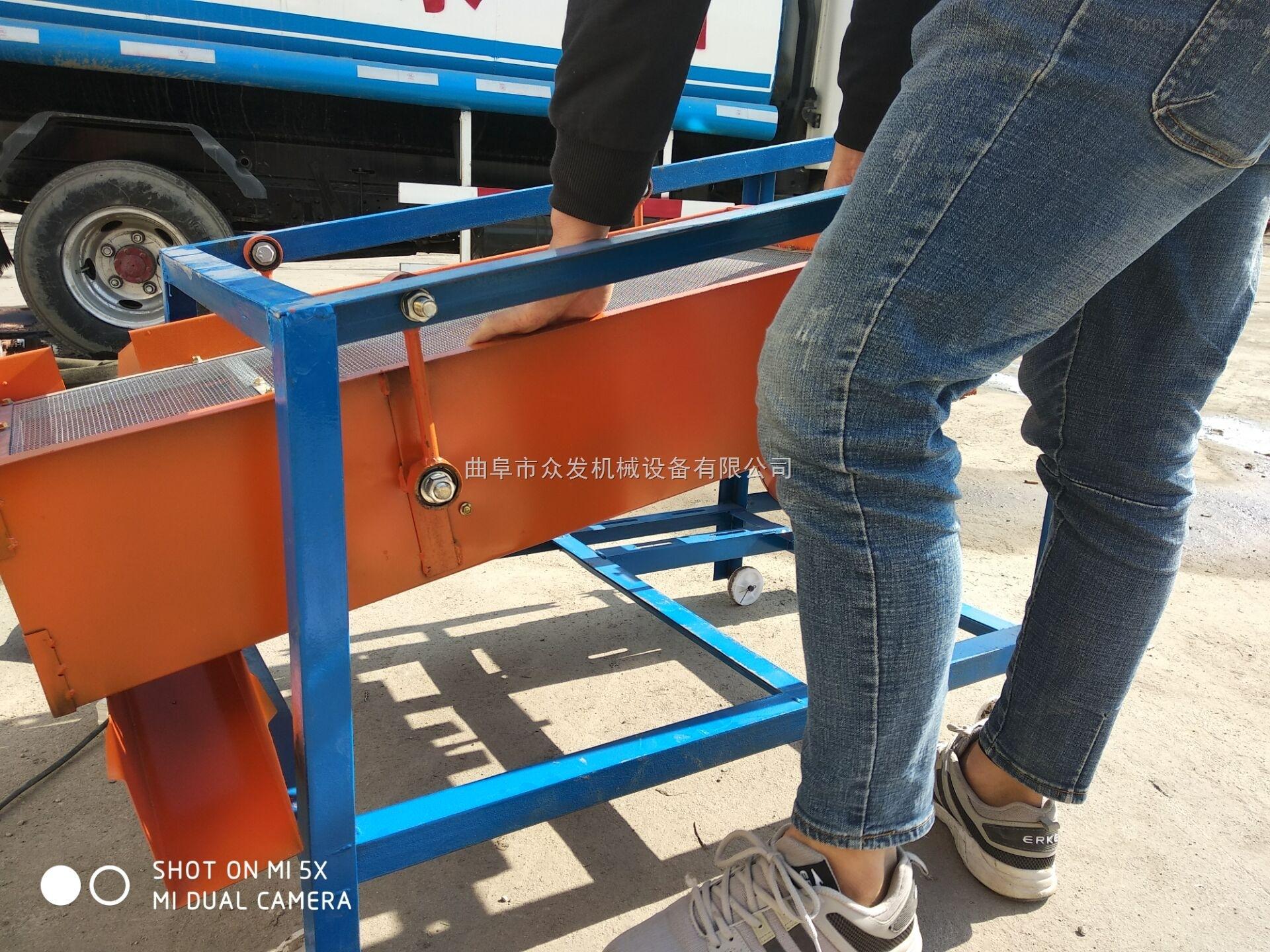 锦州水稻分级筛选机 家用小型清选分离机