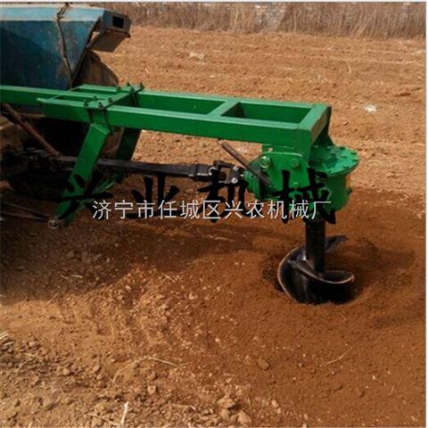 河南树坑钻孔机 双人手提挖坑机 农用种树钻坑机尺寸可定做