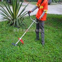 手持式水稻收割机 汽油割灌机操作方法